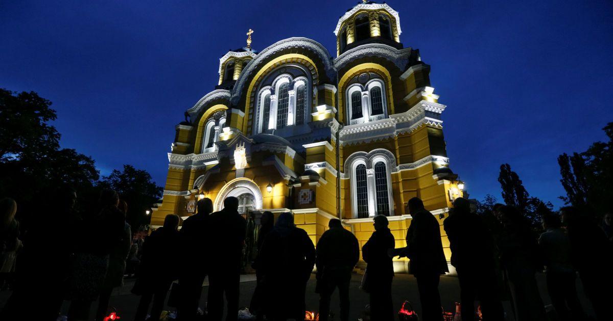 Служба во Владимирском соборе @ Reuters