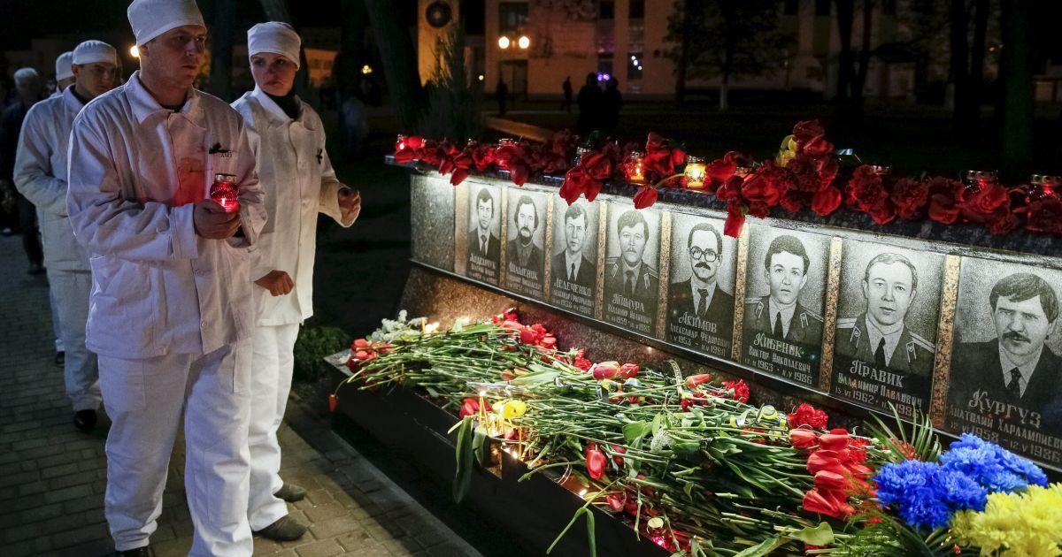 Жертв аварии почтили в Славутиче