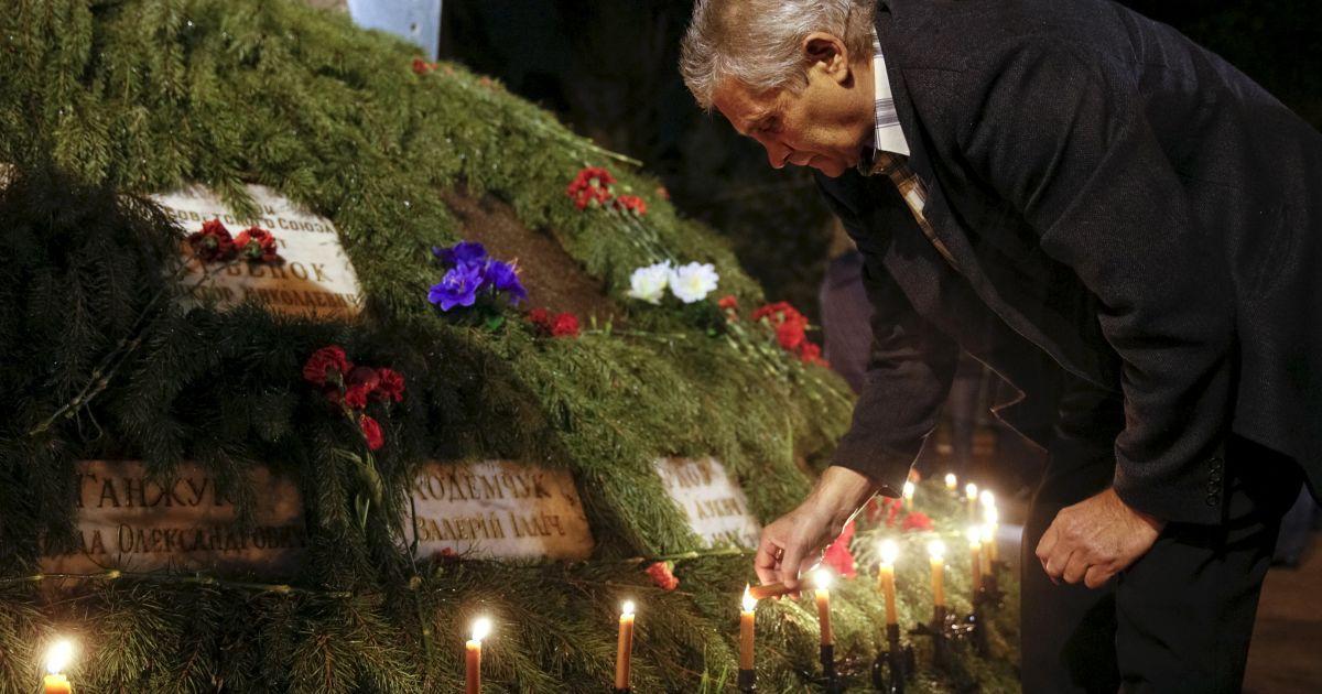 В Киеве влатшували поминальную службу