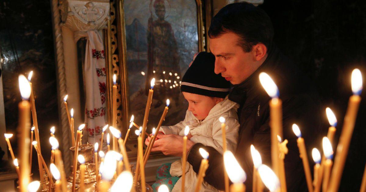 Служба у Володимирському соборі @ Reuters