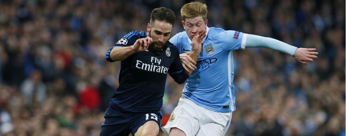 """""""Реал"""" без Роналду здобув нічию у """"Манчестер Сіті"""" в першій битві півфіналу Ліги чемпіонів"""