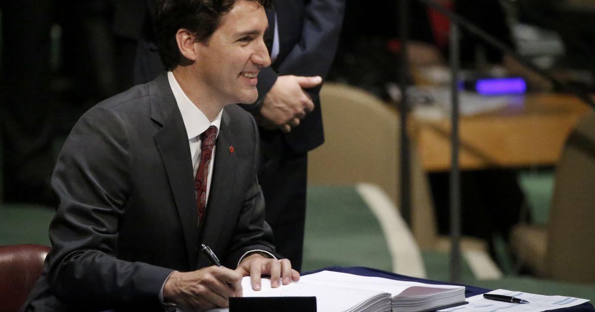 Премьер Канады Джастин Трюдо