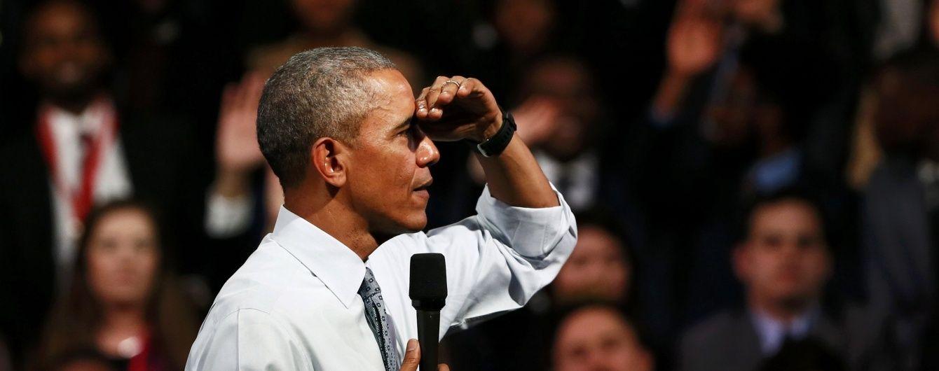 """Росія ставить під загрозу прогрес, який було досягнуто після """"холодної війни"""" - Обама"""