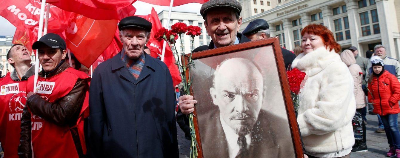 На Чернігівщині знесли останнього Леніна