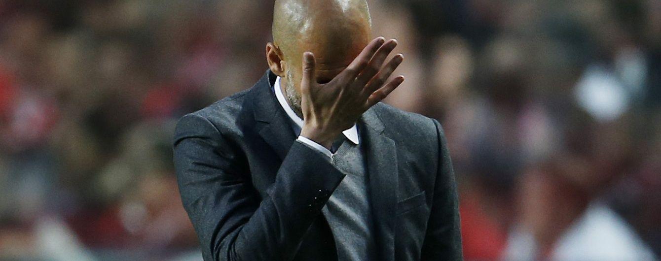 """Тренер """"Манчестер Сіті"""" звинуватив Гвардіолу у невдачах команди"""