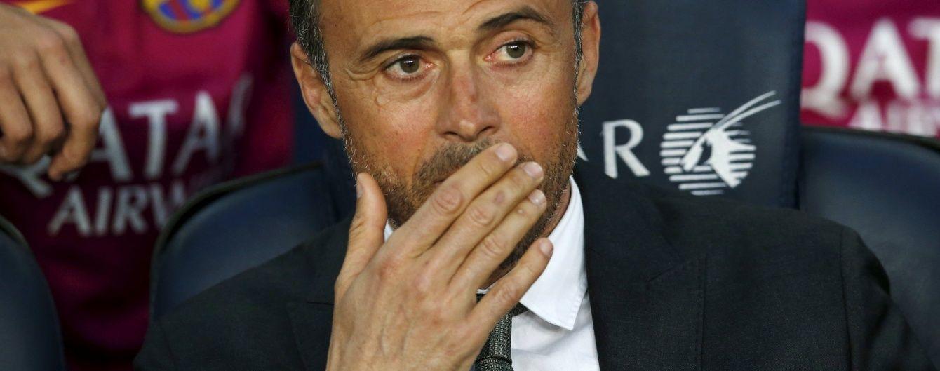 """Тренер """"Барселони"""" заявив, що йому плювати на думку журналіста"""