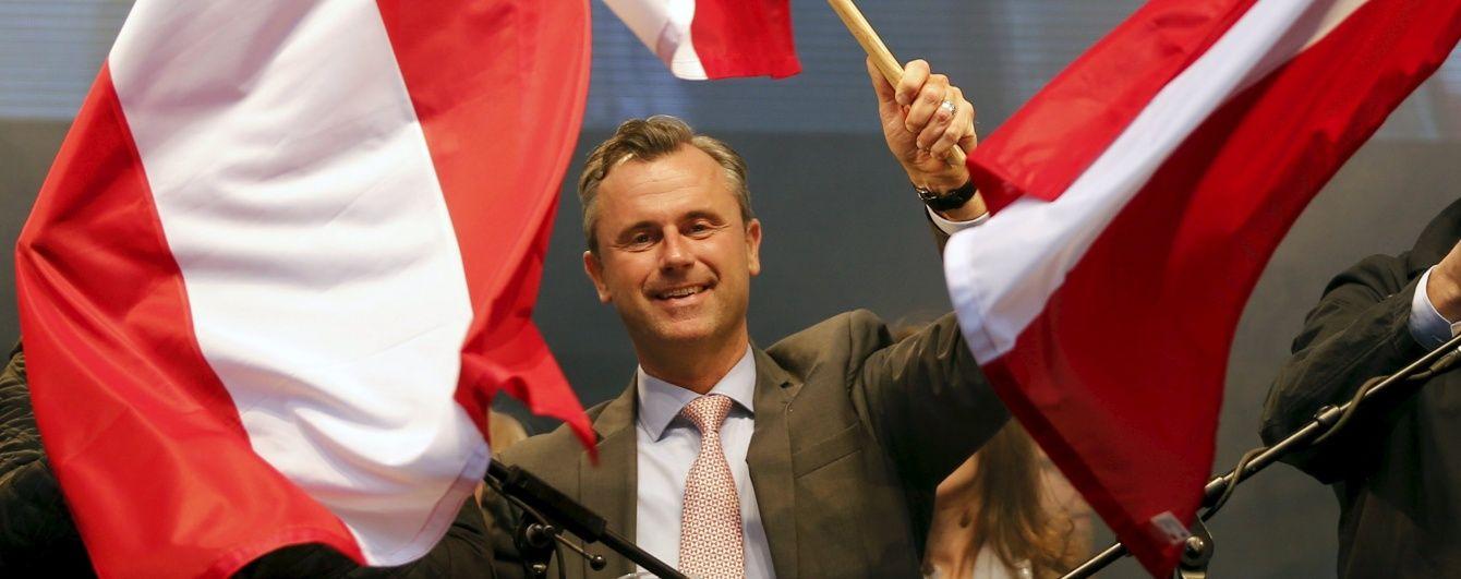 """У першому турі виборів президента Австрії переміг """"друг Путіна"""""""