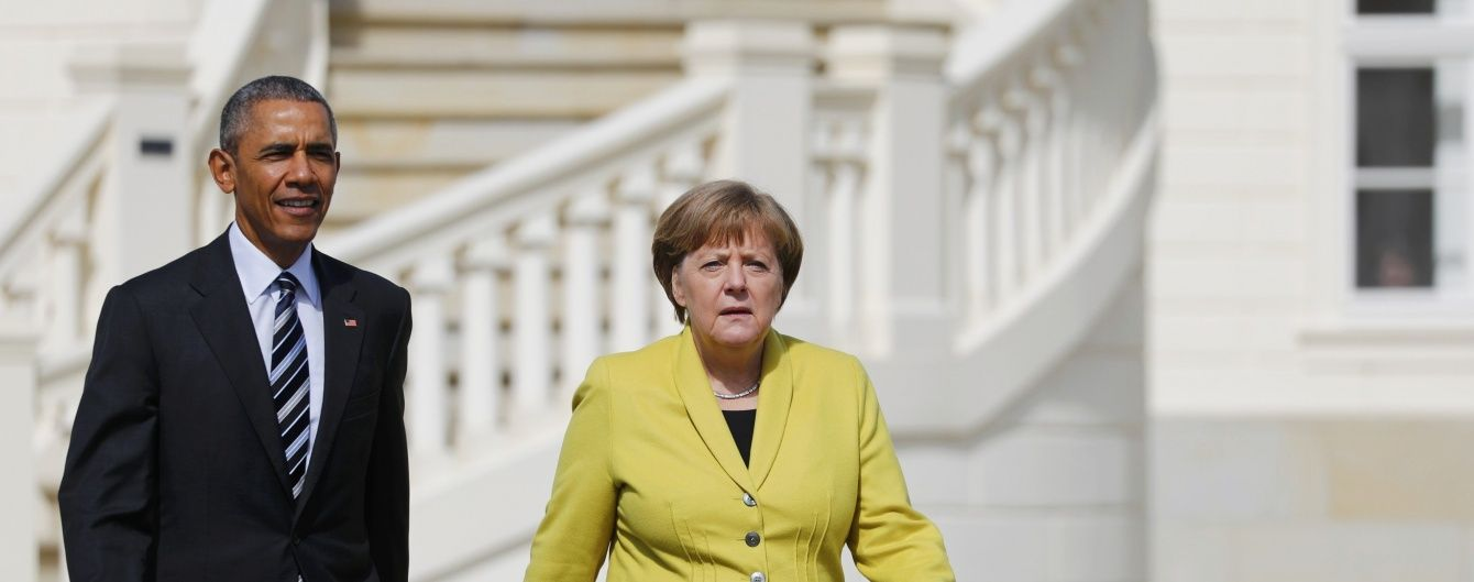 Обама прилетів до Німеччини просувати нову торгівельну угоду з ЄС