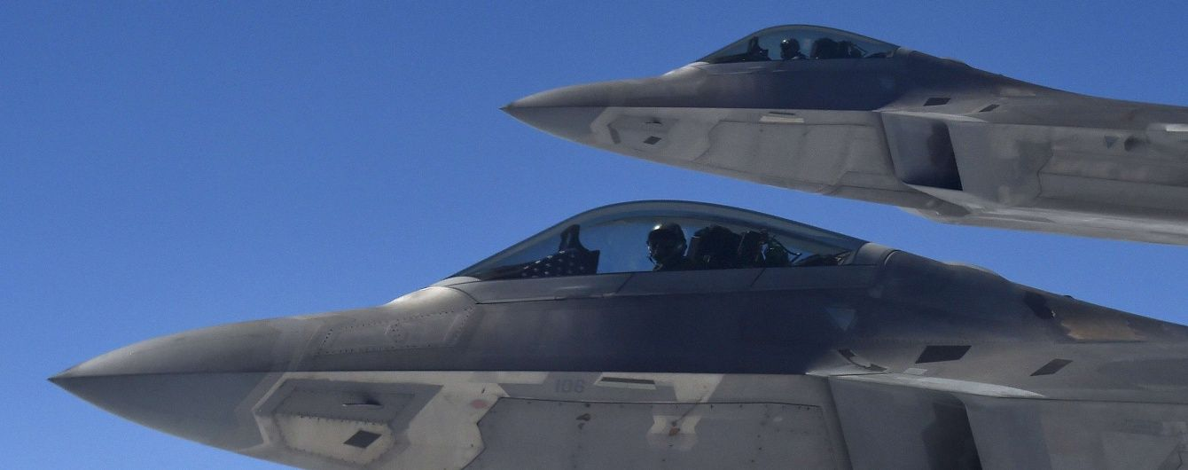 После поставок РФ С-300 в Сирию США могут перебросить истребители F-22 Raptor - СМИ