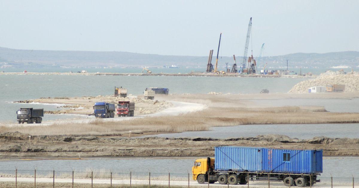 Будівництво Керченського моста @ Reuters