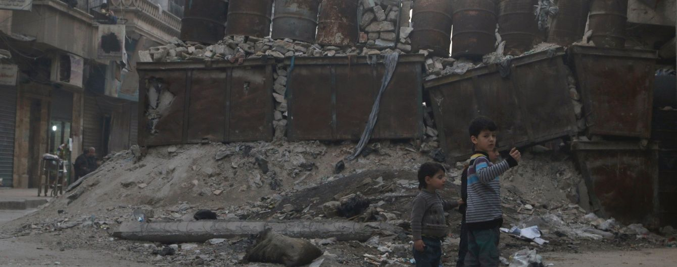 У сирійському Алеппо поновилися бої після невеликого затишшя