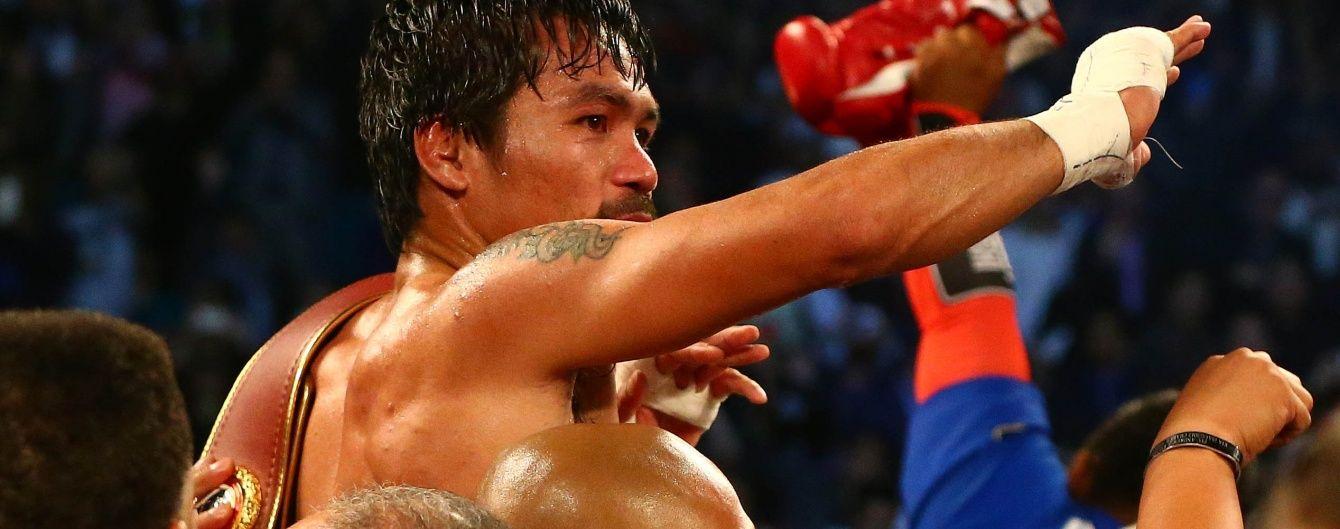 Пакьяо планує повернутися у бокс – промоутер
