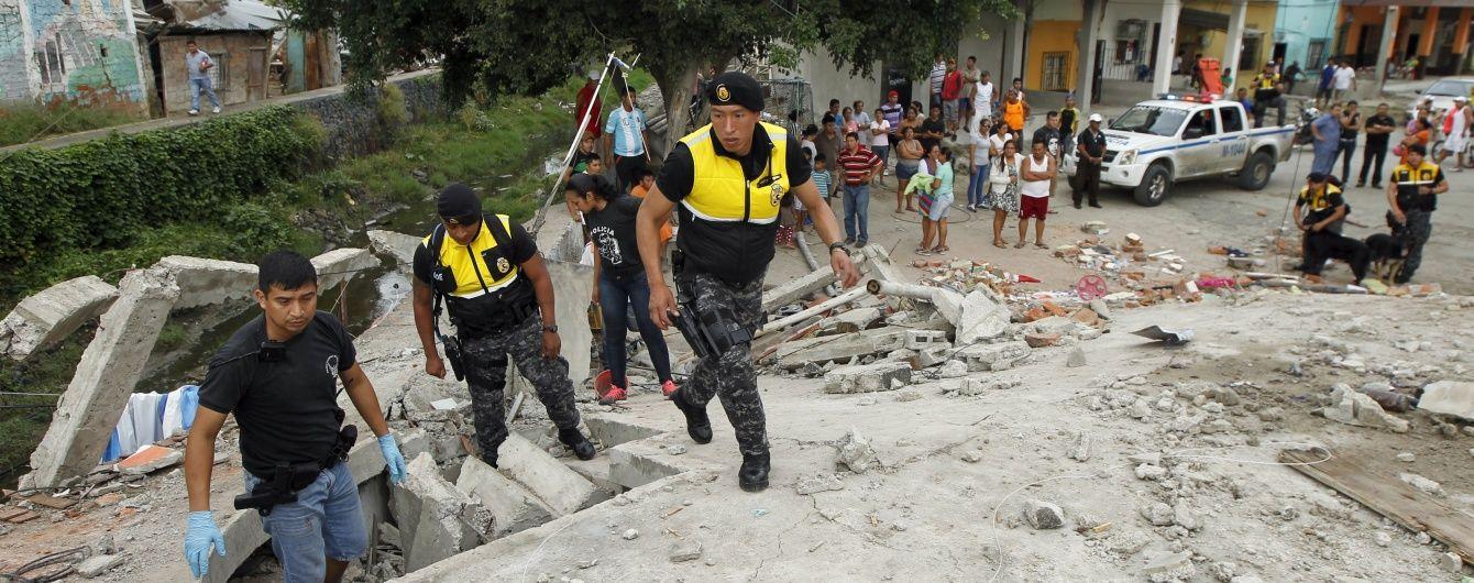 Нищівний землетрус в Еквадорі: кількість загиблих зросла до 350