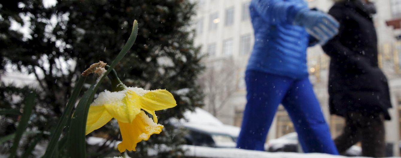 Україну накриє похолодання: синоптики обіцяють мокрий сніг і нічні заморозки