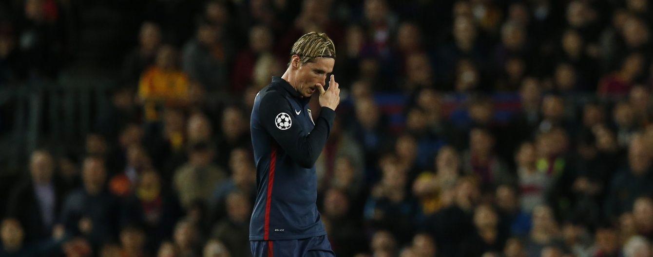 """Забіяка Торрес звинуватив суддю у поразці """"Атлетіко"""" від """"Барселони"""" в Лізі чемпіонів"""
