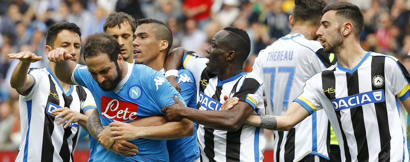 """""""Наполі"""" епічно програв у чемпіонаті Італії і збільшив шанси """"Ювентуса"""" на титул"""