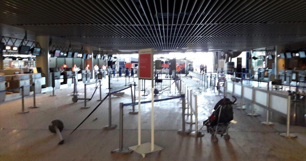 Наслідки вибухів в аеропорту Завентеп у Брюсселі. @ Reuters