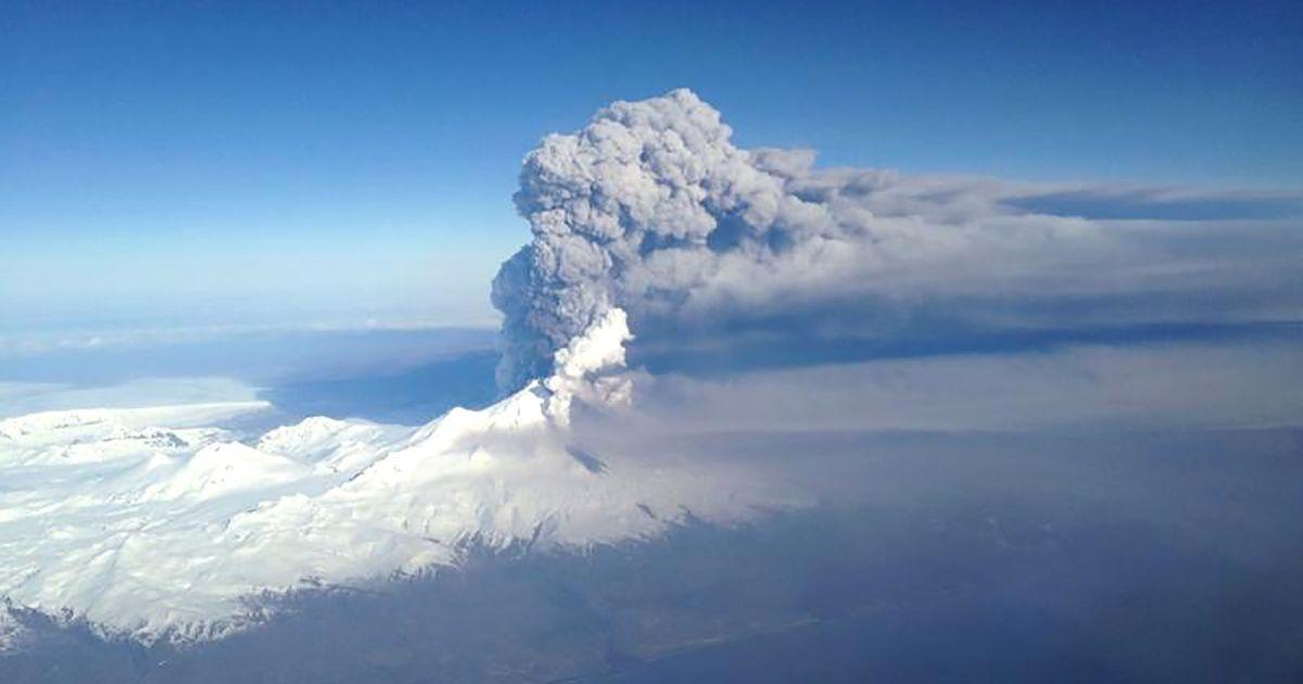 На Алясці почалося виверження вулкану