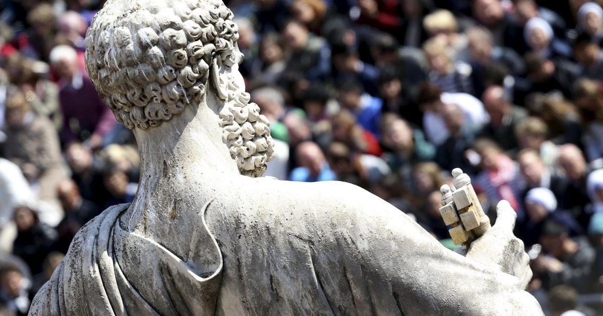 Папа Римський очолив святкову месу @ Reuters