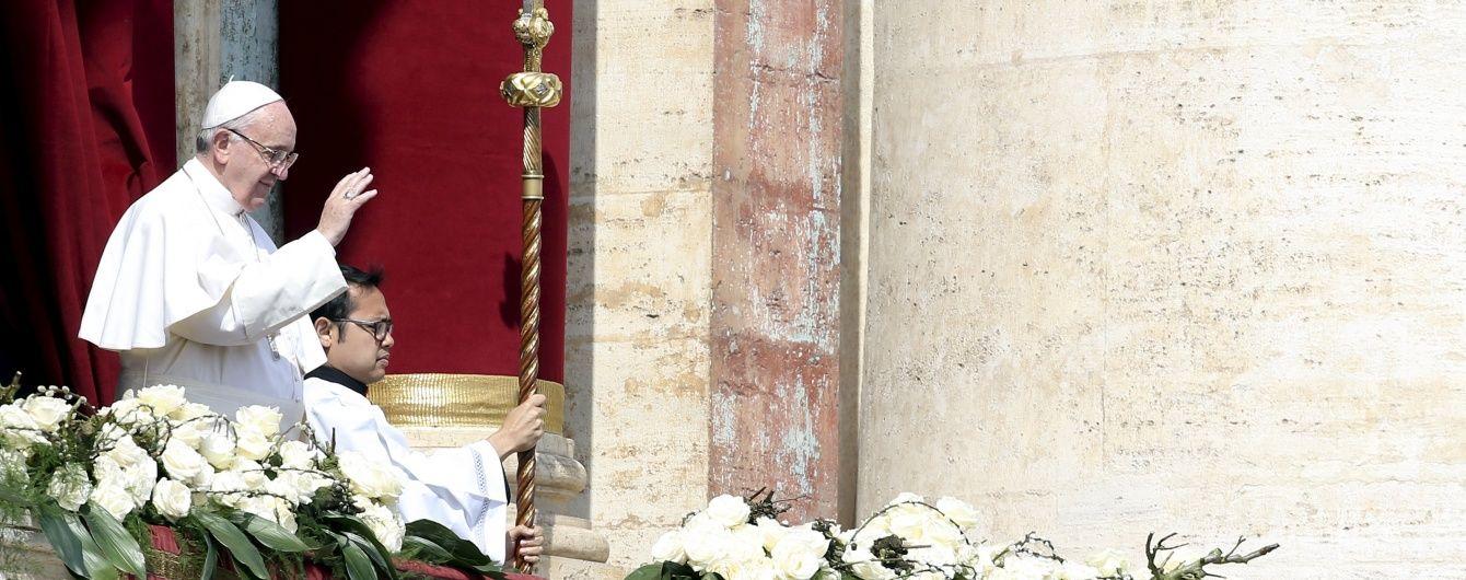 Різдвяний подарунок. Ватикан зібрав постраждалим на Донбасі 6 мільйонів євро