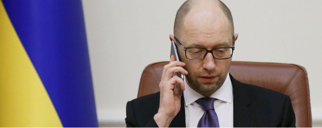 Європа не збирається знімати санкції з Росії – Яценюк
