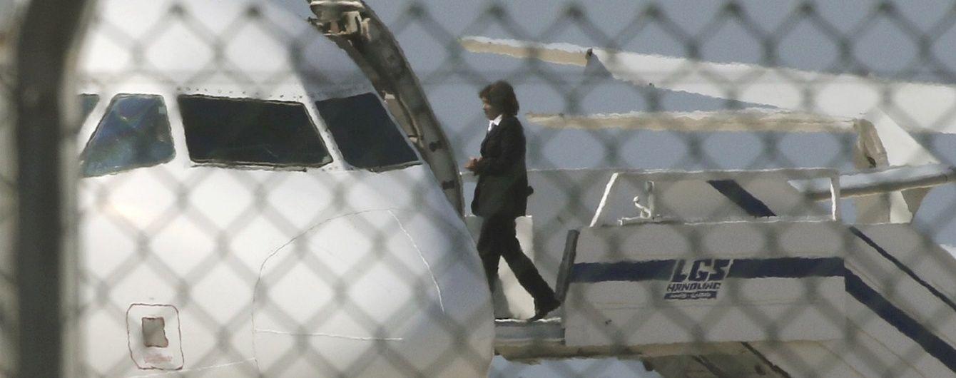 З'явилося відео звільнення заручників із літака EgyptAir