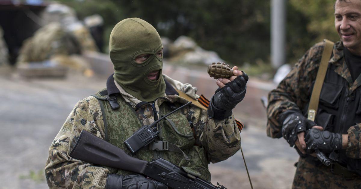 На Светлодарской дуге подорвались двое боевиков-россиян – штаб АТО