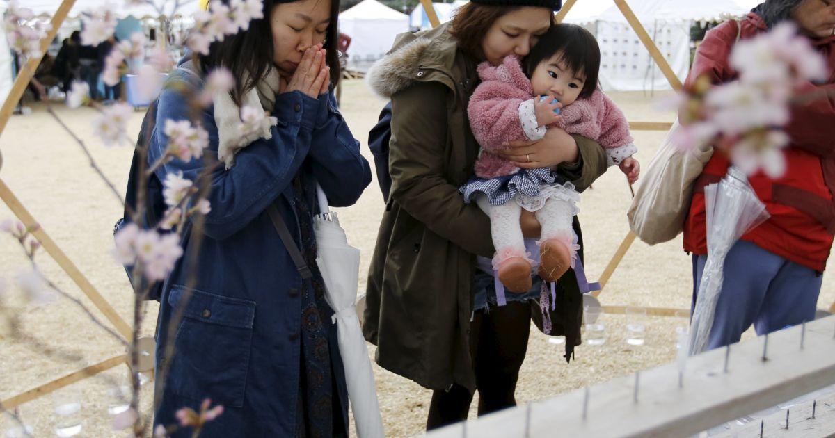У Японії вшанували пам'ять загиблих @ Reuters
