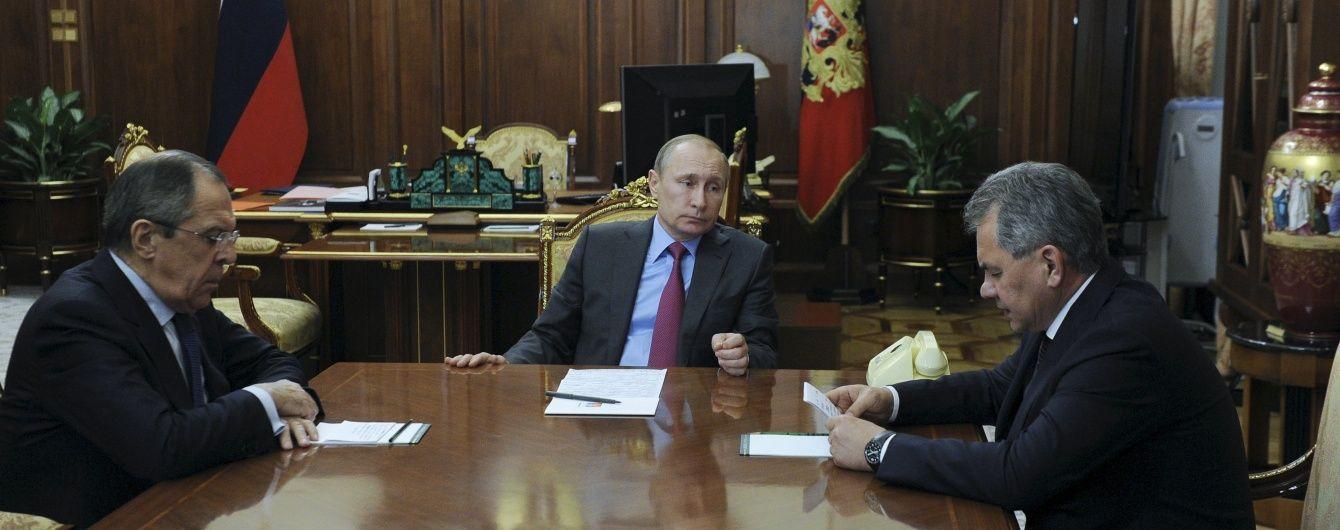 Путін наказав виводити російську армію з Сирії