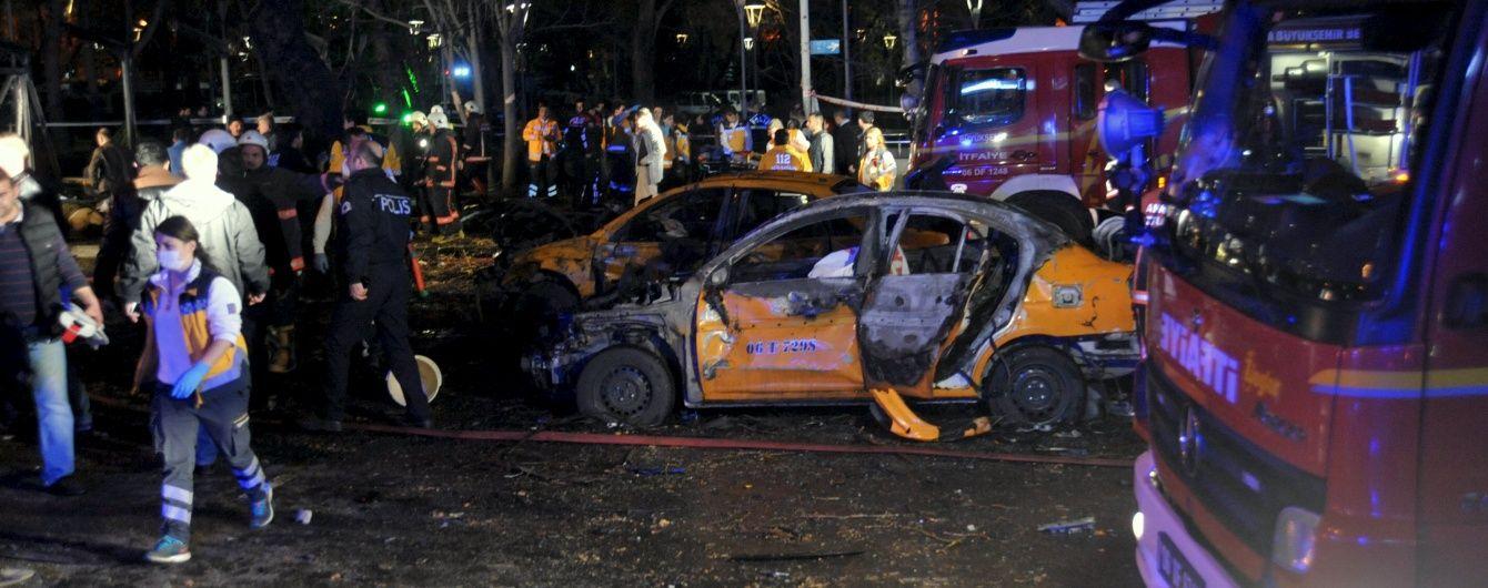 У Мережі з'явилися відео потужного вибуху в Анкарі