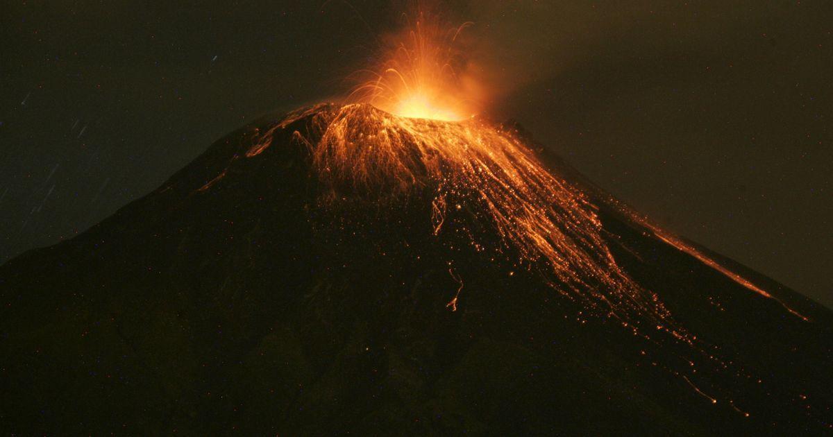 Виверження вулкану Тунґурауа @ Reuters