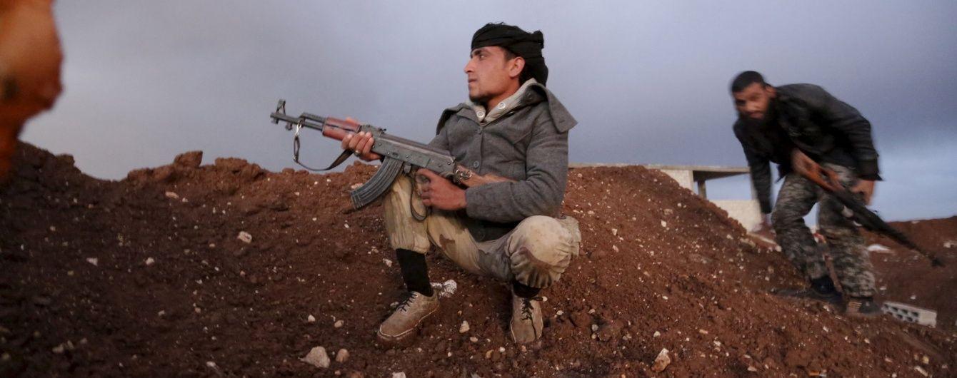 Сирійська опозиція погодилася на перемир'я