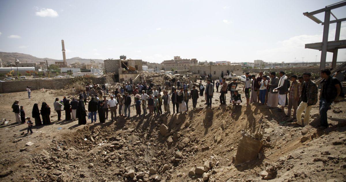 З початку військової кампанії в Ємені загинули близьку 6 тисяч людей.