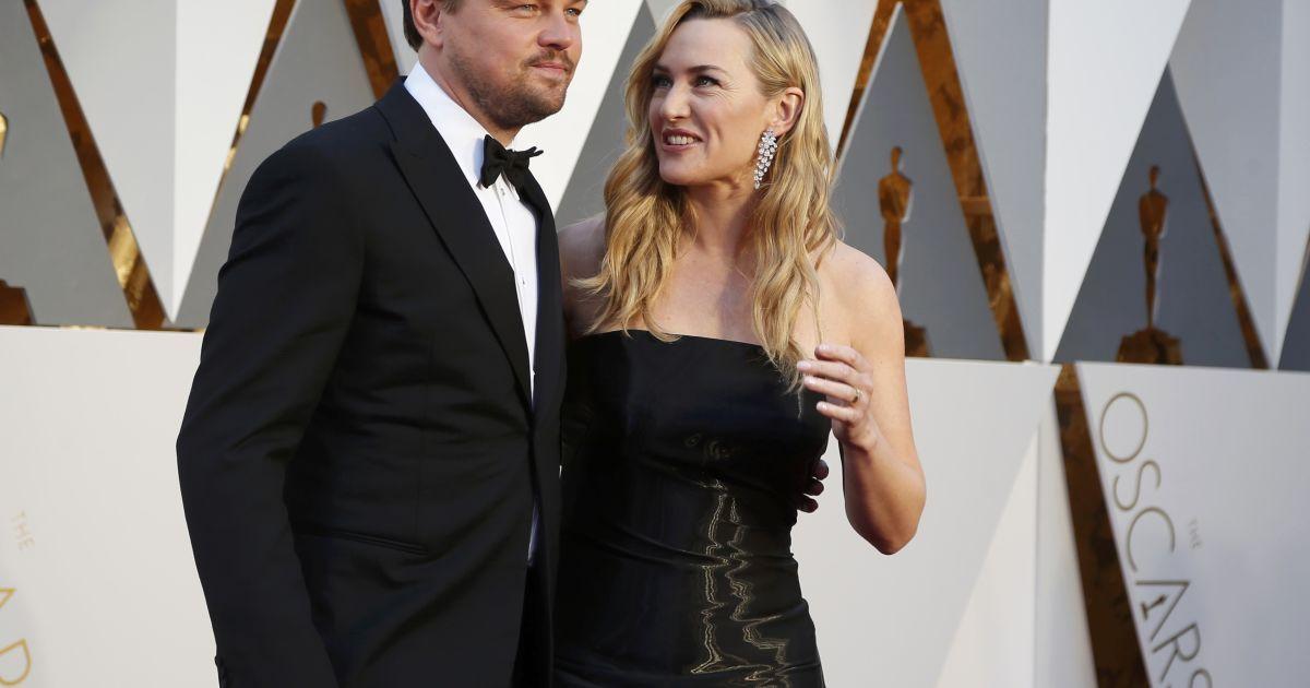 """Вінслет та Ді Капріо зустрілися на """"Оскарі"""" @ Reuters"""