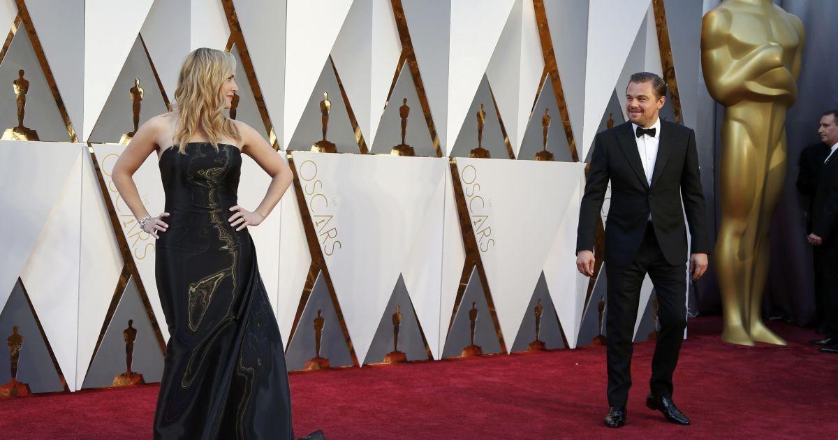 """Вінслет та ДіКапріо зустрілися на """"Оскарі"""" @ Reuters"""