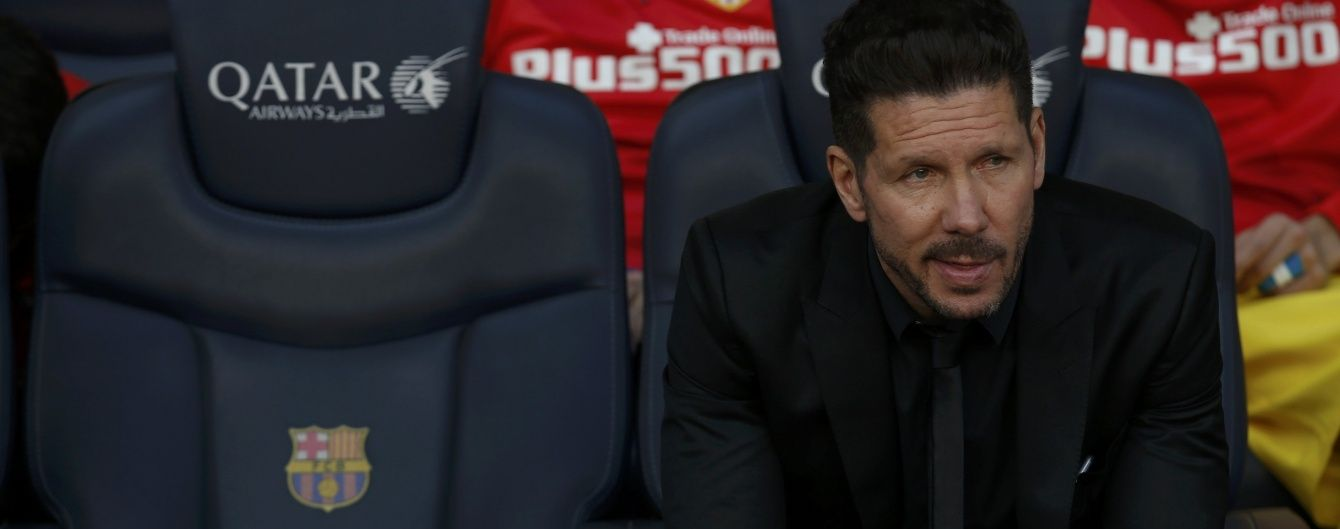 """""""Атлетіко"""" втратив усіх центральних захисників перед битвою з """"Барселоною"""" у Лізі чемпіонів"""