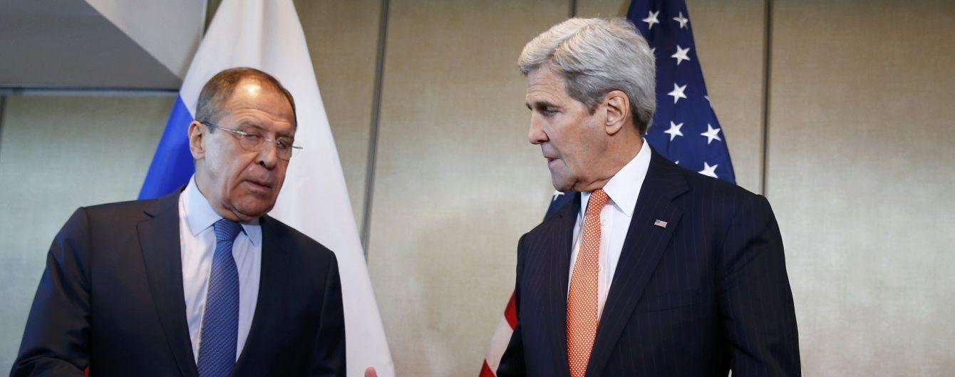 Керрі і Лавров поговорили по телефону про початок перемир'я в Сирії