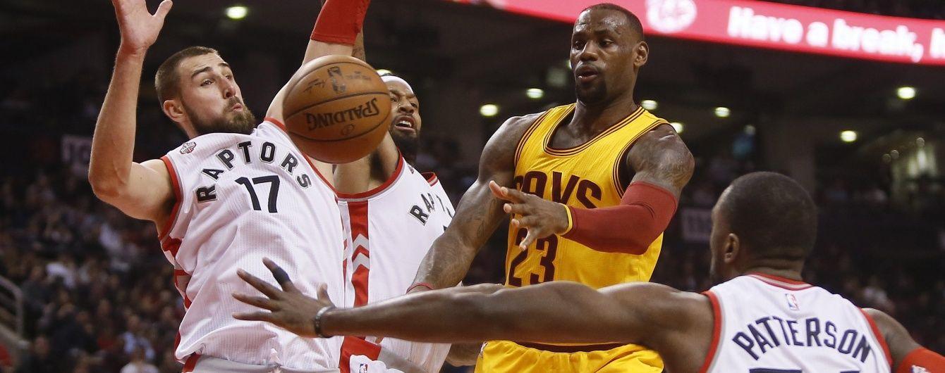 """У матчі НБА """"Торонто"""" – """"Клівленд"""" перервалася рекордна серія блокшотів"""