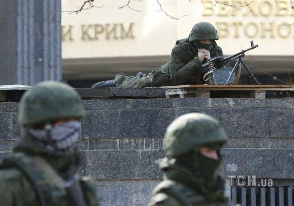 Крим, анексія Криму, зелені чоловічки
