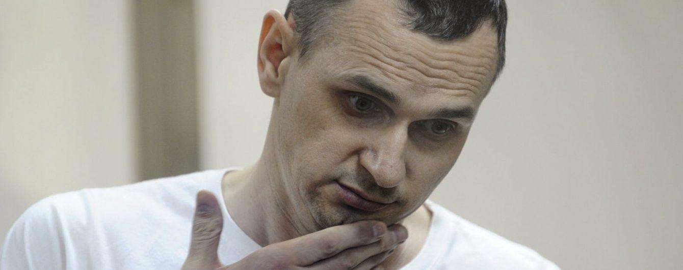 Начало поддерживающей терапии говорит об ухудшении состояния Сенцова - врачи