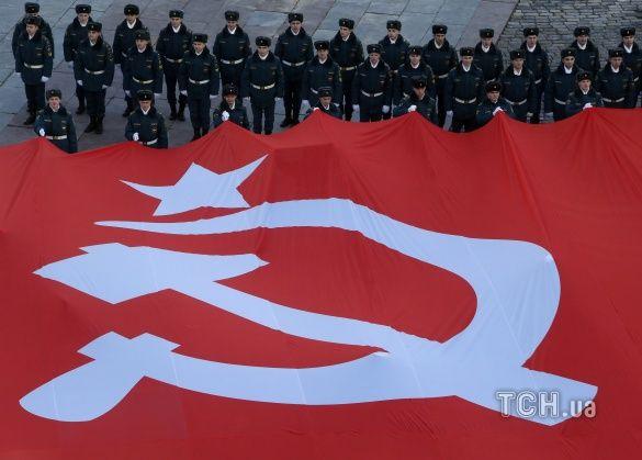СРСР, радянський союз, серп та молот
