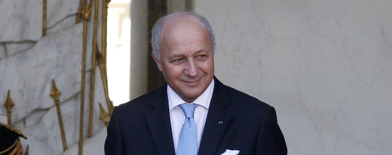 Перемовник щодо Донбасу від Франції Лоран Фабіус пішов у відставку