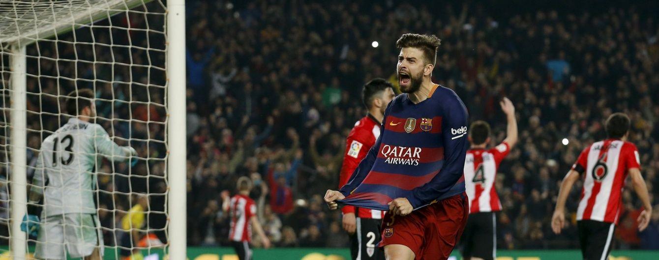 """""""Барселона"""" не без проблем пробилася до півфіналу Кубка Іспанії"""