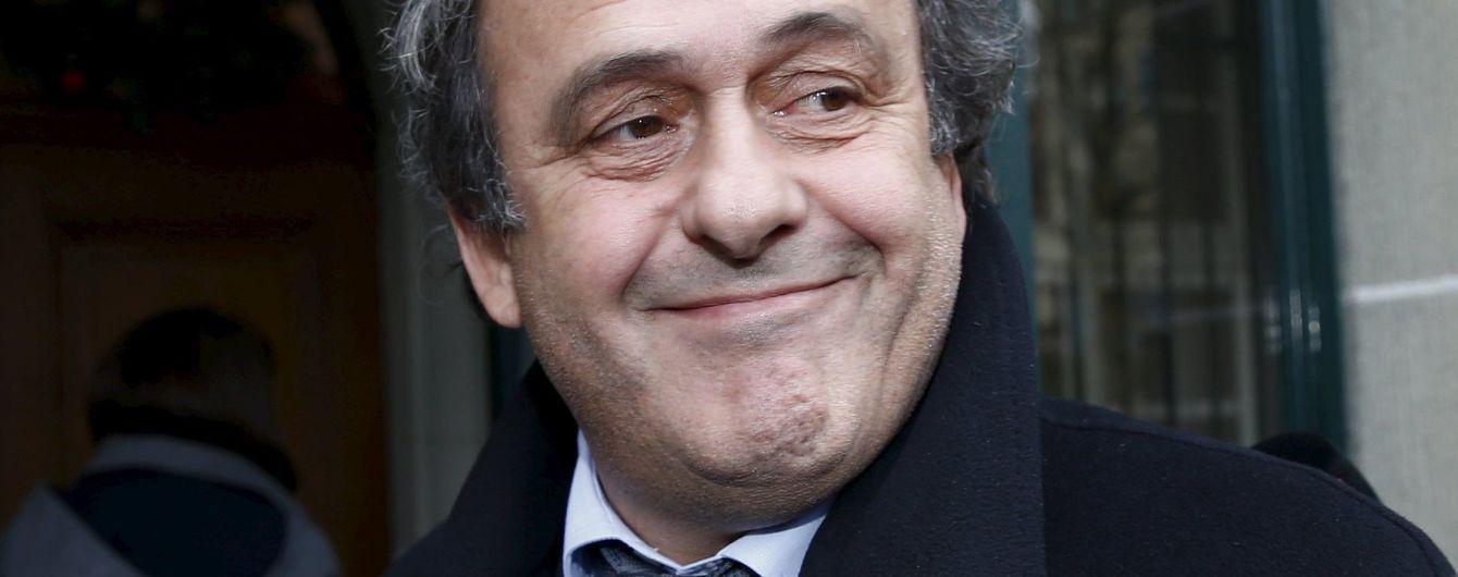 """У ФІФА назвали дату """"судного дня"""" Платіні"""