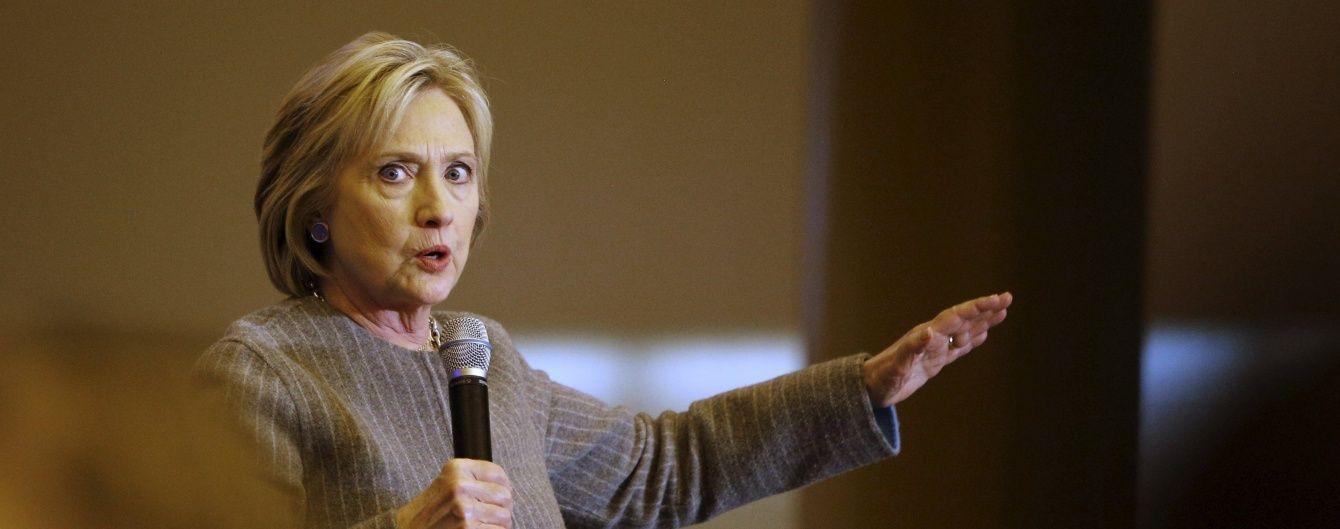 Держдеп відновлює розслідування справи про службове секретне листуванні Клінтон