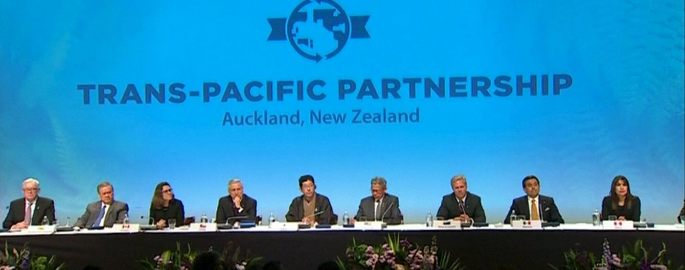 12 стран подписали договор о Транстихоокеанском партнерстве. Инфографика