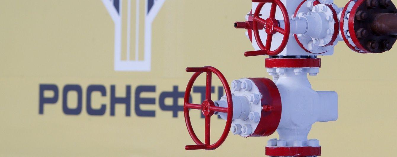 Прибутки найбільшої російської нафтової компанії обвалилися вчетверо