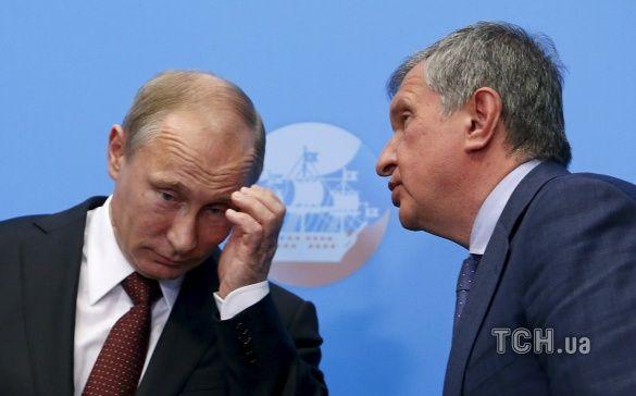 Путін і Сєчін
