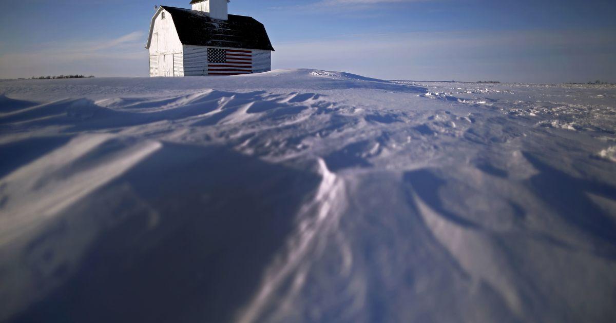 Снігова буря може стати найпотужнішою за останні десятиліття @ Reuters