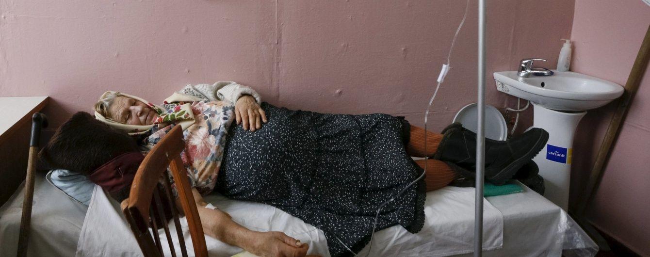 В Україні скорочується кількість ліжок у лікарнях